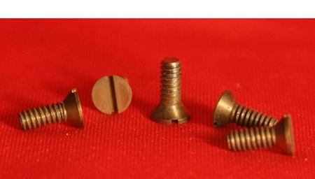 Picture for category Inch Size Flat Head Molybdenum Screws