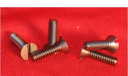 Picture for category Metric Size Flat Head Tantalum Screws