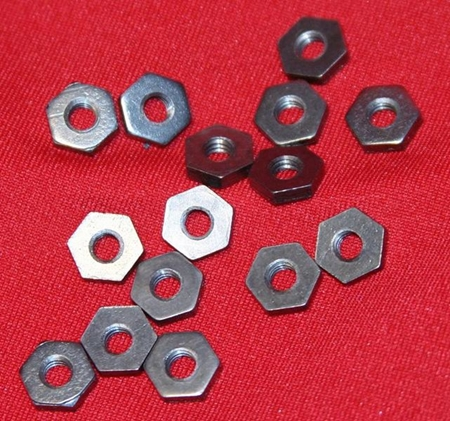 Picture for category Inch Size Hex Tantalum Nuts